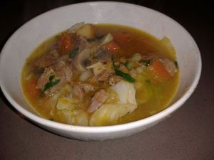 lamb and veg soup